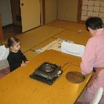  Inside room- Hiroko - San is preparing dinner