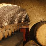 The original brewery tunnels from the 1860's are now used to age most of our red wine vintages.