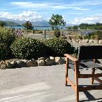 View of Lake Tekapo from the room