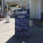  Boudoir menu
