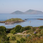  View from the garden, overlooking Derrynane Harbour