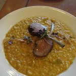  lamb and creamy pumkin risotto