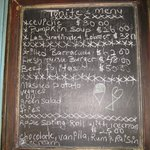  Typical specials board