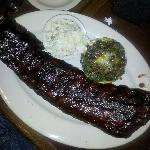 full rack of ribs...