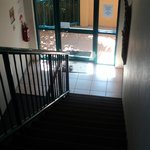  Stairway to side entrance
