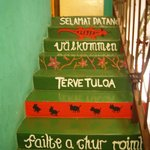 nice entrance stairs!