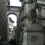  This is near the Uffizi Palace