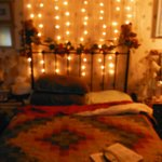 Festive lighting in my room..