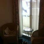 Executive Double Room - two chairs next to the window