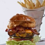 Build Your Burger at The Burger Bar