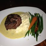 Tenderloin w/Poblano Blue Cheese Sauce