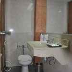  Bathroom...check out the toilet bowl where when you seat, ur face will be 1 feet away from the w