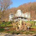 Across the street view of the inn in the late fall