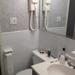 Bathroom: simple but clean and tidy