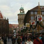 The Christmas Market three blocks away.