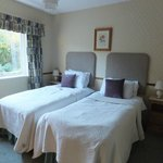 The Twin Bedroom at Larch Cottage