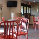 Enjoy breakfast in our open spacious lobby