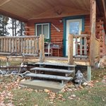 the cute cabin we stayed in