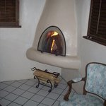 The horno fireplace that drew perfectly