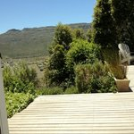 View near the pool in Fishhoek direction