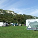 Folkestone Warren Campstie - lush and green