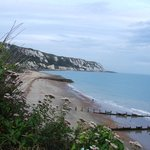 Folkestone Warren beach - beautiful views