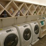Washing machines, so kind for travellers