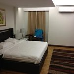 spacious room! I like! price per night is worth it with the space