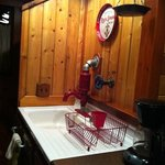 Kitchen sink & firehouse style faucet!