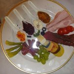  Breakfast cold meats and cheese