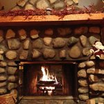  Fireplace in Cabin 4