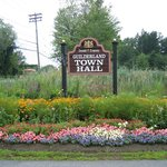 Guilderland Town Hall flowers on Route 20