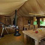  Country House Hideout tent interior
