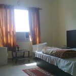 room in hotel hallmark kathua.....