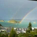  Double Rainbow from Room 1st Evening