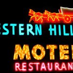 Historic Western Hills Neon sign.