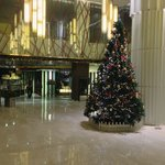 Lobby during the Christmas Holidays