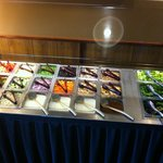 Fresh Salad Bar (part of the Buffet)