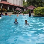 Suria cherating's swimming pool