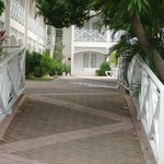  Walkway out from Poolside rooms