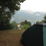 View from the camp site
