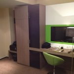 dressing table, tv & wardrobe