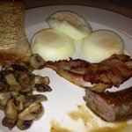 breakfast at Sunward Park Guesthouse
