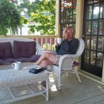 Morning Coffee on th Front Porch