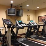fitness center is amazing..