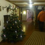  Entrance hall in December