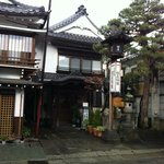  Front view of Matsuya Ryokan