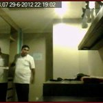 the guy who was here caught on video in my room