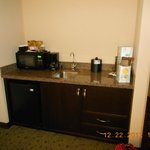 Kitchenette area...