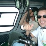 Helicopter tour